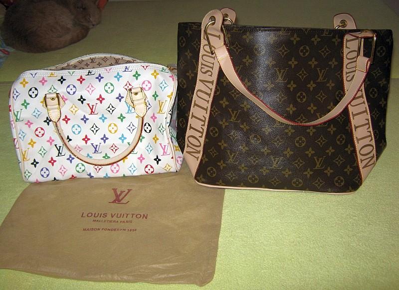 5276bcd99 Fotografie č. 1 - Fotografie inzerátu Louis Vuitton dvě kabelky ...